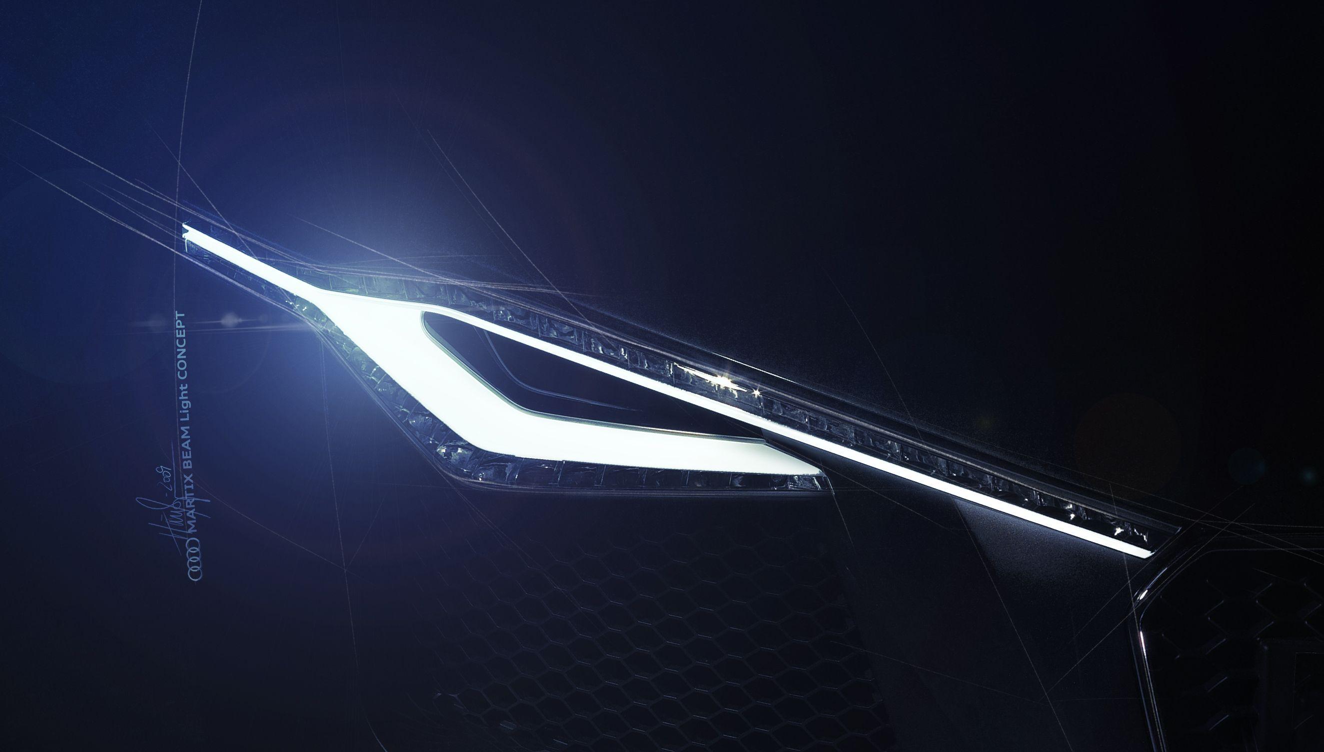 AUDI Matrix Beam Light Concept & AUDI Matrix Beam Light Concept   AUDI Lighting Design Sketch ... azcodes.com