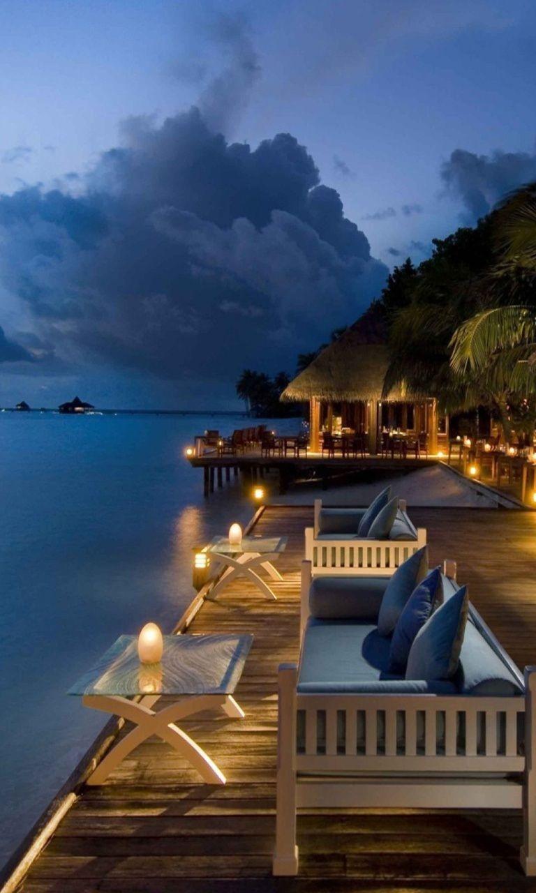Conrad maldives bar rangali island maldives paisajes for Conrad maldives rangali island resort islas maldivas