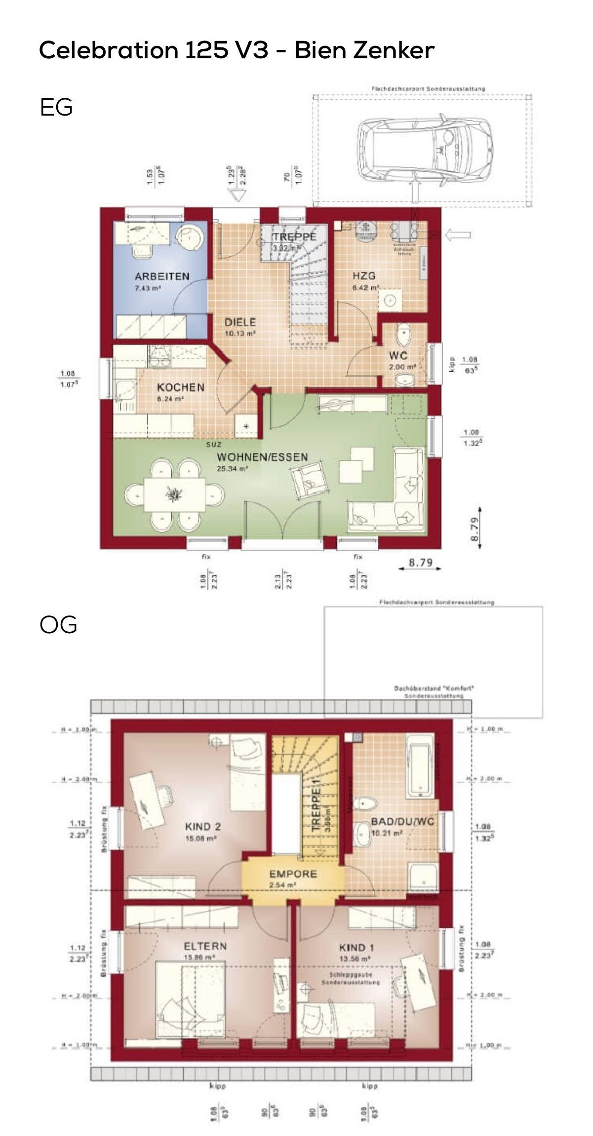grundriss einfamilienhaus quadratisch mit satteldach. Black Bedroom Furniture Sets. Home Design Ideas