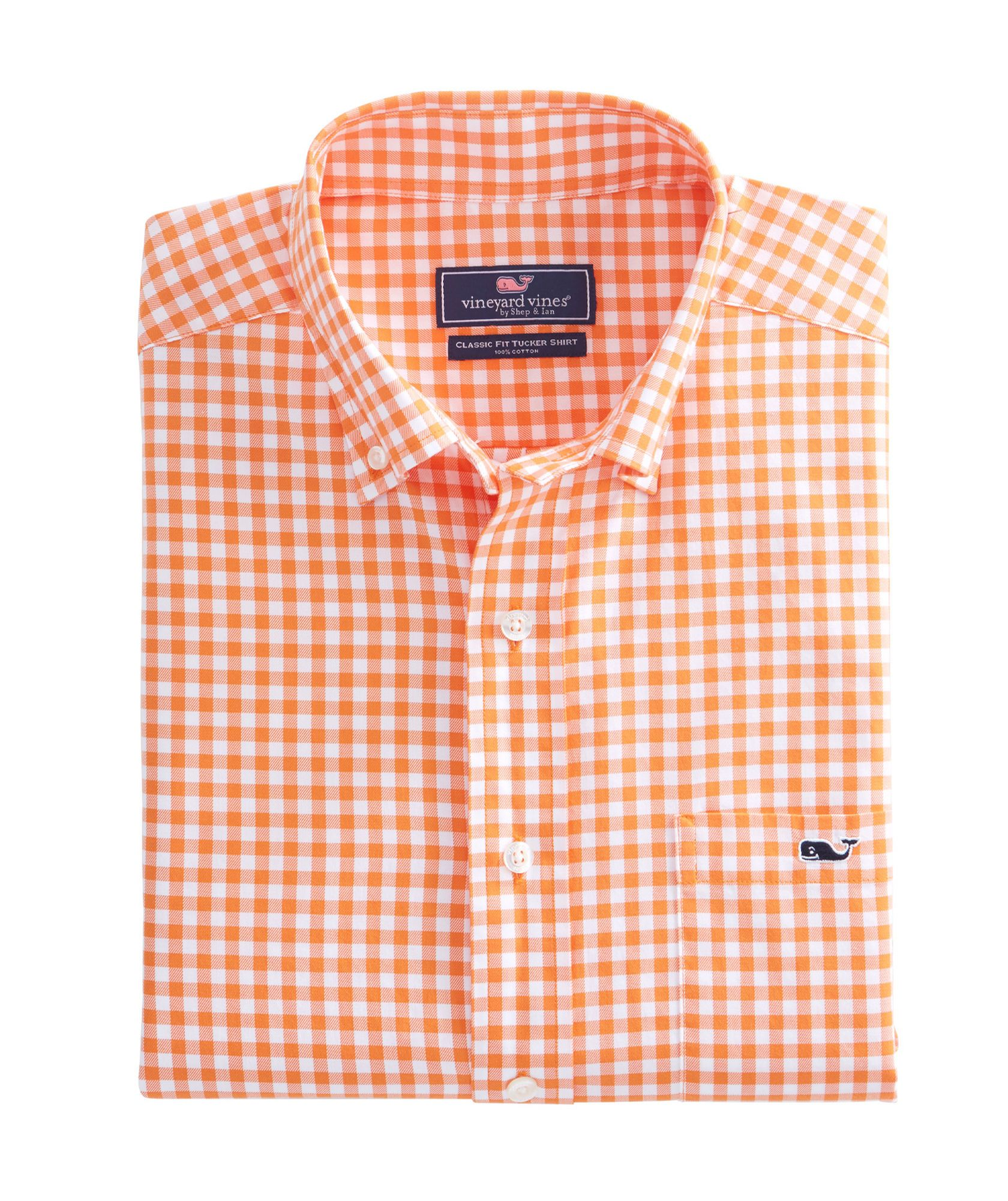 Nottingham Gingham Classic Tucker Shirt  9b0052d84
