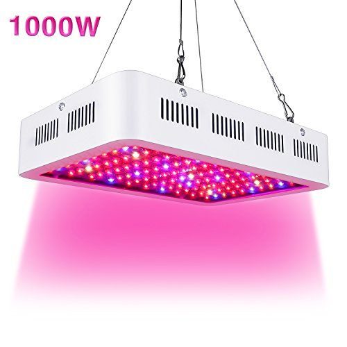 Led Grow Light 1000w Full Spectrum Grow Lights For Indoor Plants Double Chips Growing Lamps With Uv Grow Lights For Plants Led Grow Lights Indoor Grow Lights