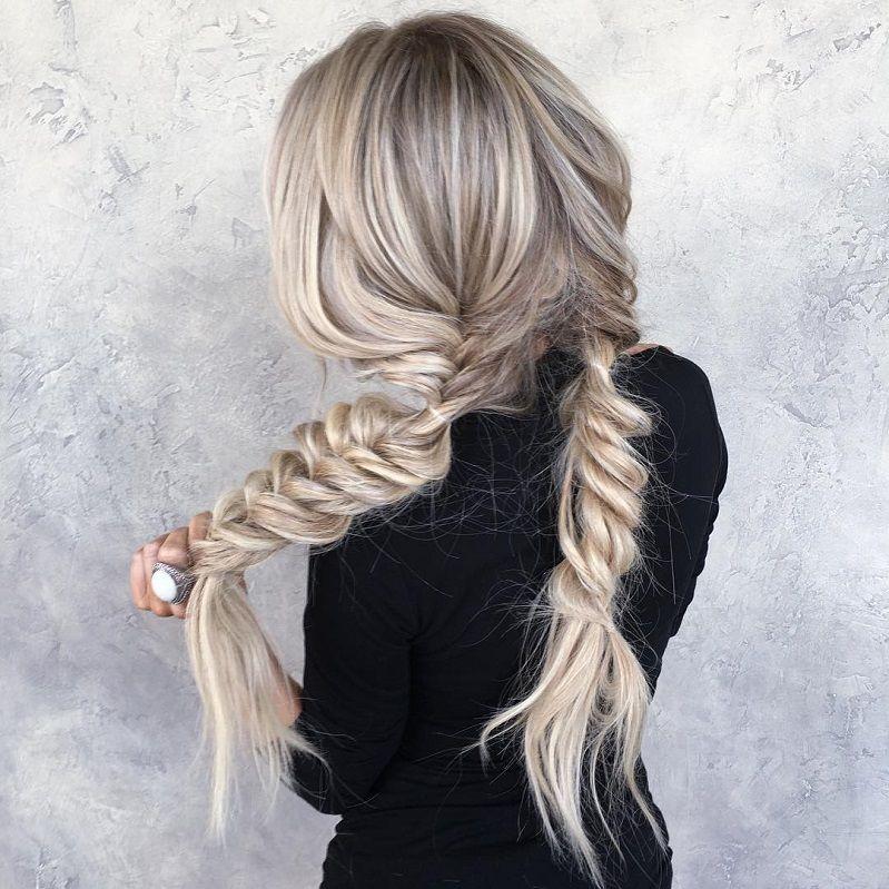 39 Trendy + Messy & Chic Braided Hairstyles – Pretty braids hairstyles