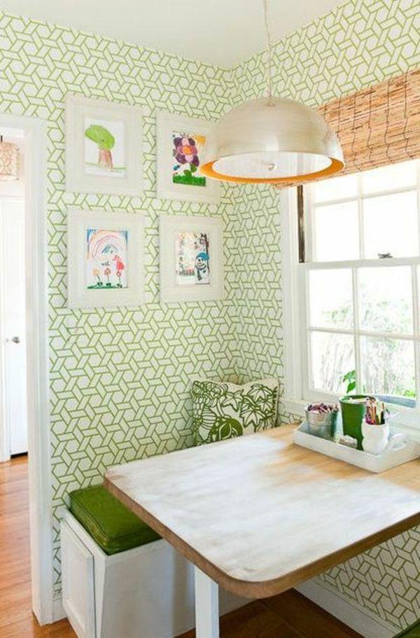 Le Papier Peint Graphique Decoration Unique Pour L Interieur