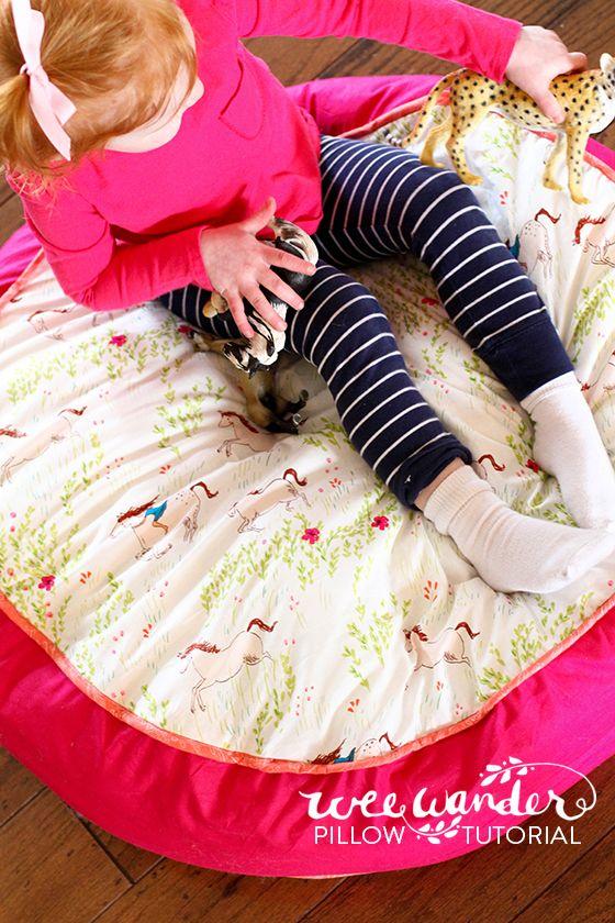 WEE WANDER BLOG TOUR: X-Large Floor Pillows | Large floor pillows ...