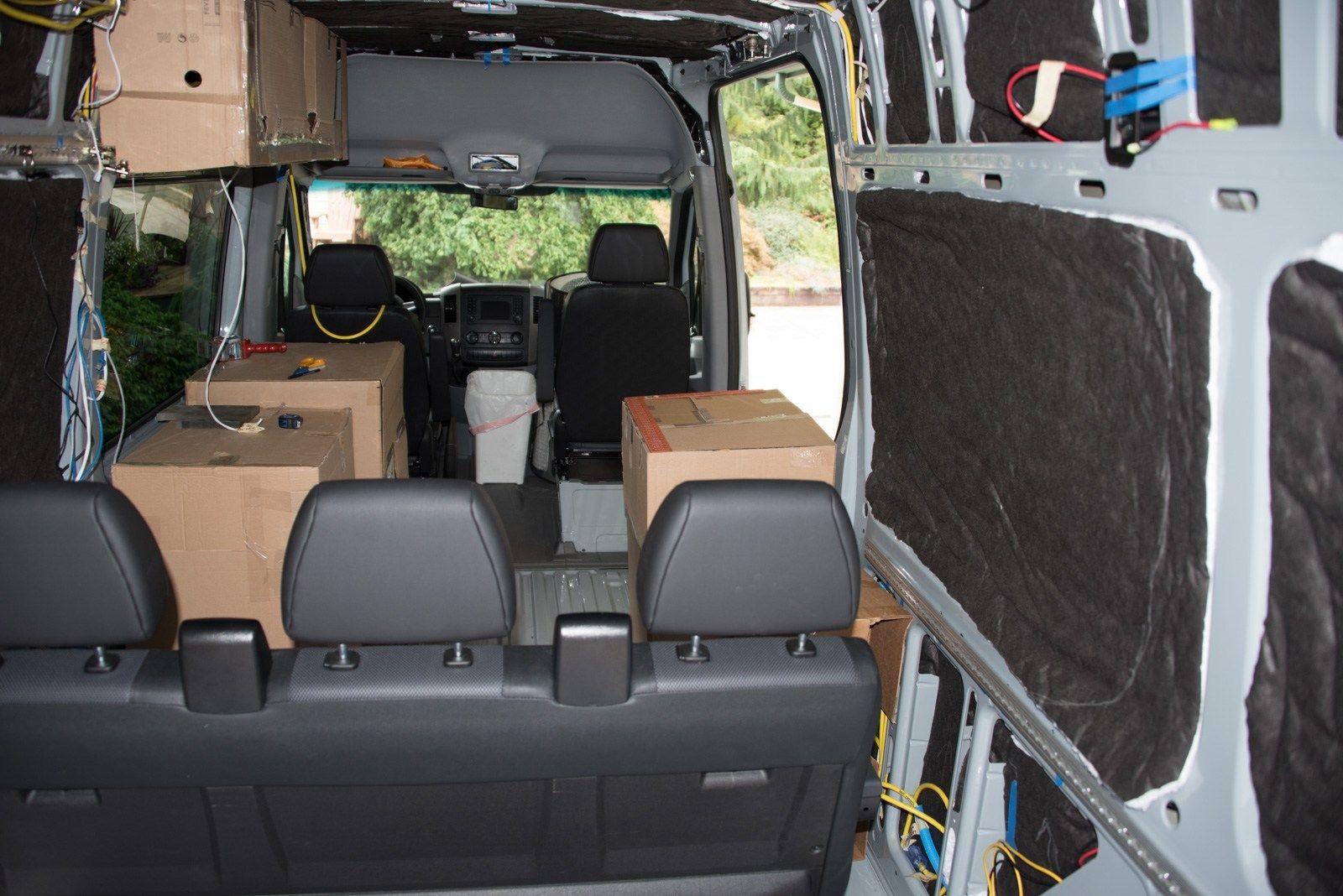 Mocking up locations Mocking, Camper van, Car seats