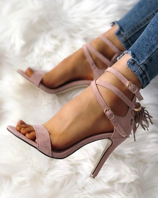 Touch Ups Jackie Criss Cross Sandal | Patent heels, Ankle