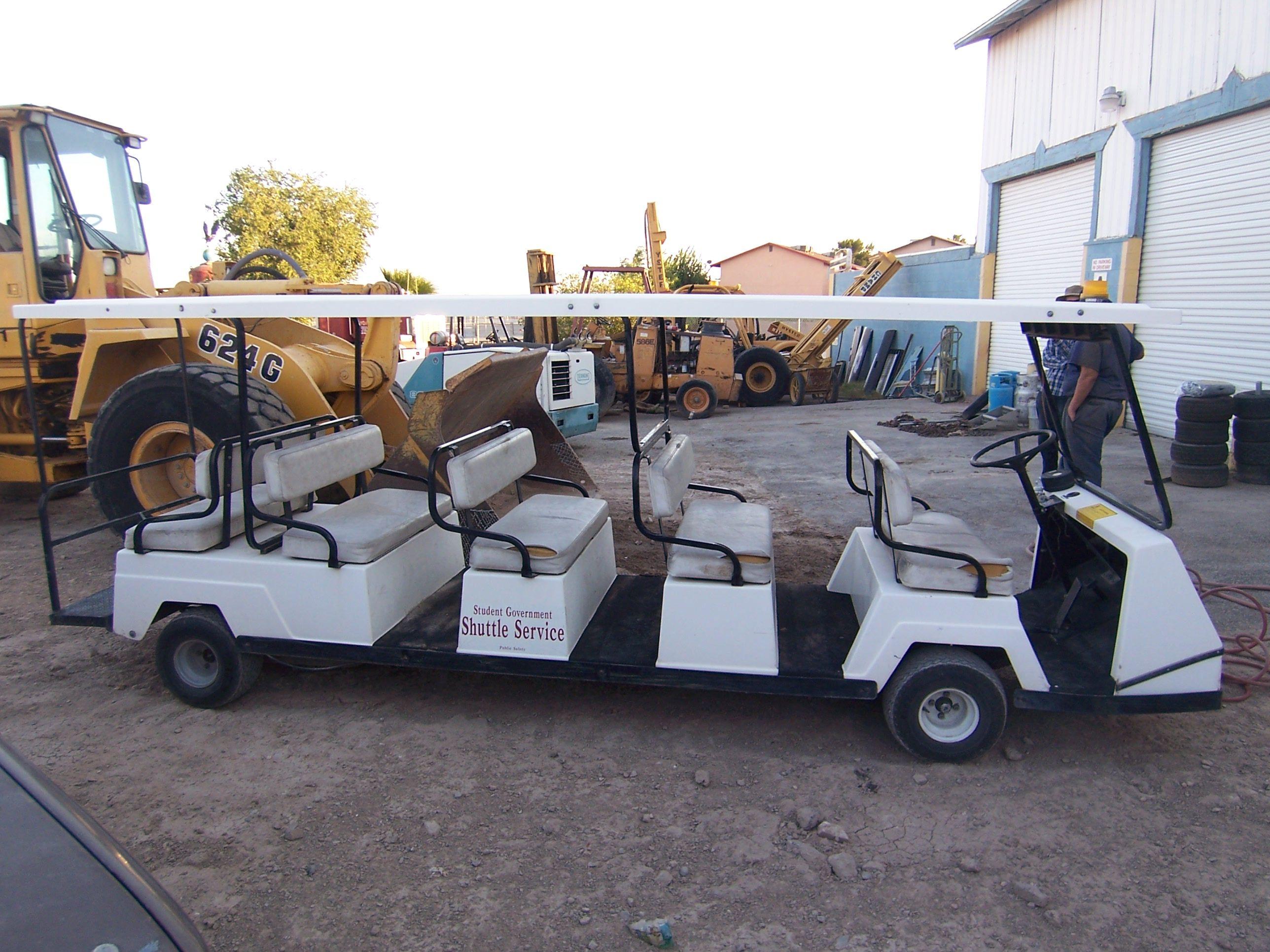 Shuttle Service Golf Cart National Park Golf Carts Golf Cart