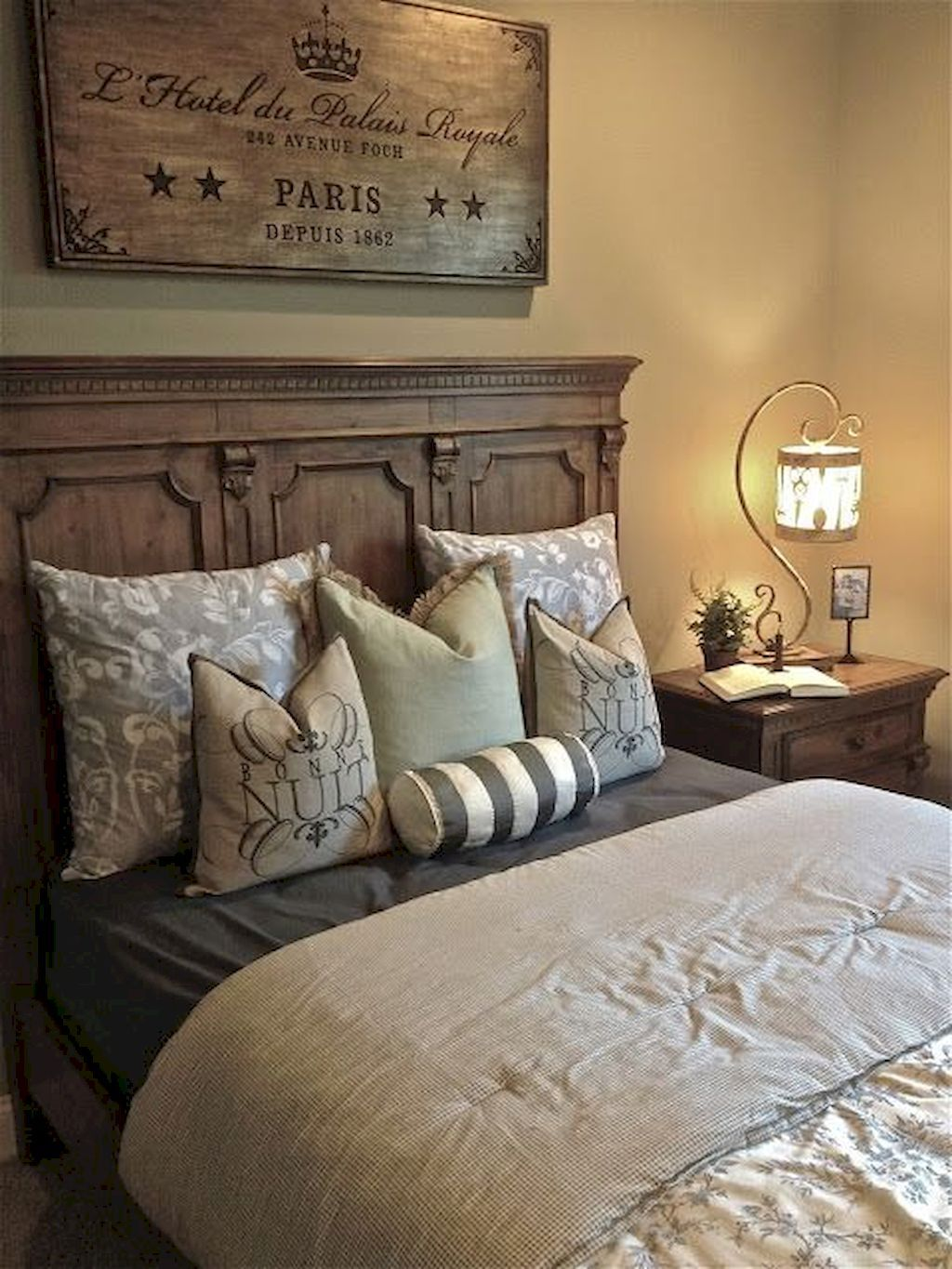 Pin By Kelley Trempler On Modern Farmhouse Decor Country Bedroom Decor French Country Bedrooms French Country Decorating Bedroom