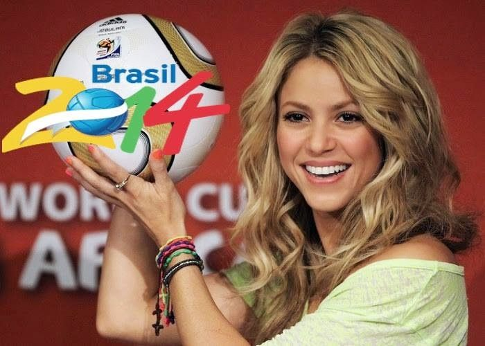 Pin By Imtiaz Ahmed On Shakira Dare La La La Official Video Shakira World Cup Song World Cup