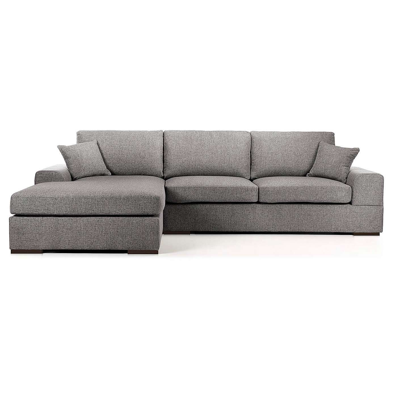 Vedori Left Hand Corner Chaise Sofa Grey Corner Sofa Chaise Sofa Chaise Lounge Sofa