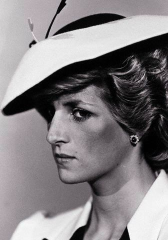 Princess Diana... Icy stare. Must be directed at two particular people. Hmm, now let me guess who they could be.