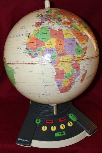 GEOSAFARI WORLD Exploratoy Interactive Talking Globe Game ...
