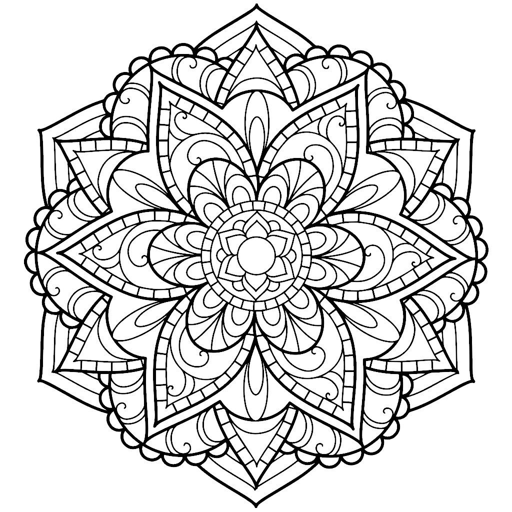 Pin by shawna russell on mandala love pinterest for Love mandala coloring pages