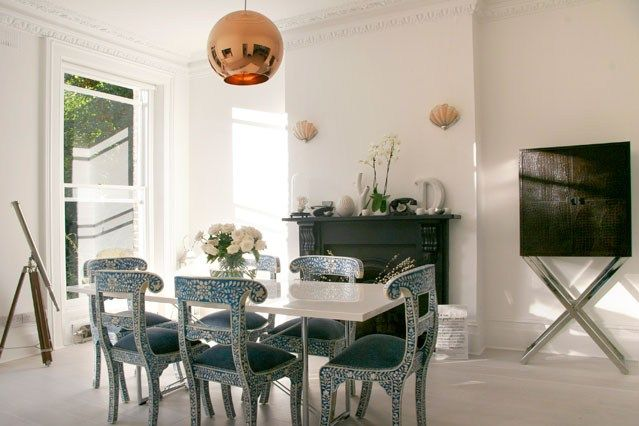 Gorgeously Girly Kitchen ChairsDining Room