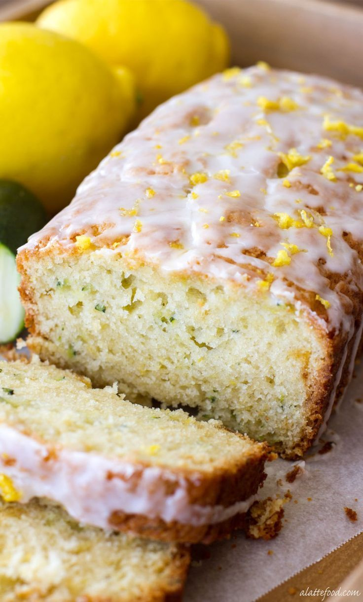 This easy zucchini bread recipe has a lemon twist to it, making it the perfect quick bread for the fall!
