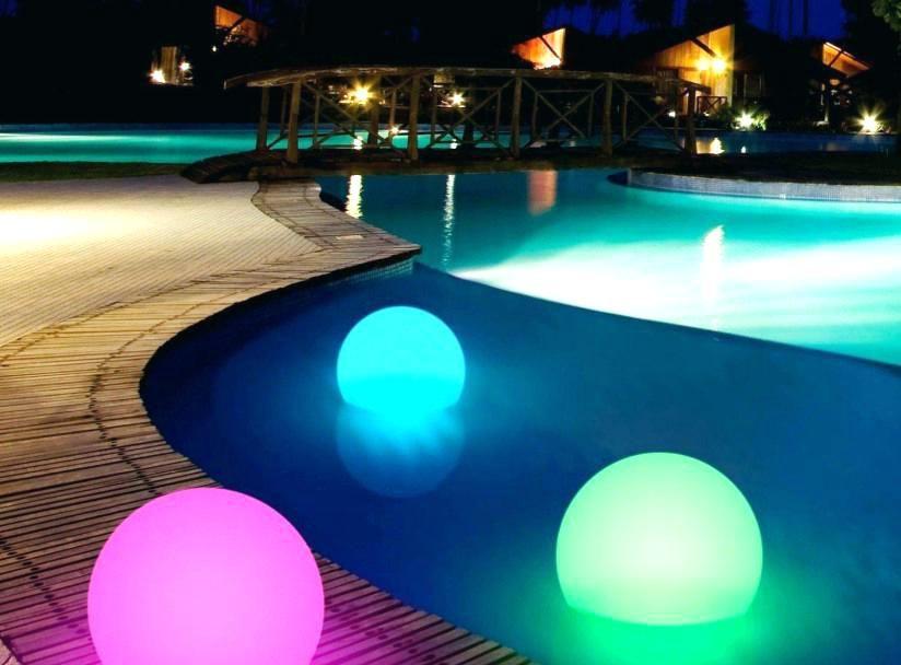 Pool Deck Lighting Ideas Led Light Luxury