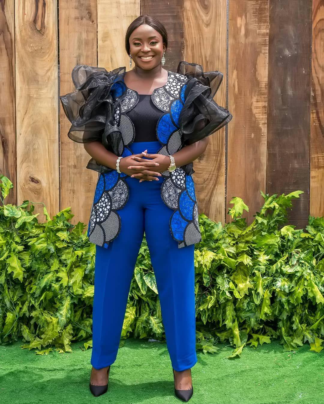 Trending ankara blue kimono styles (With images)   African fashion, Kimono fashion