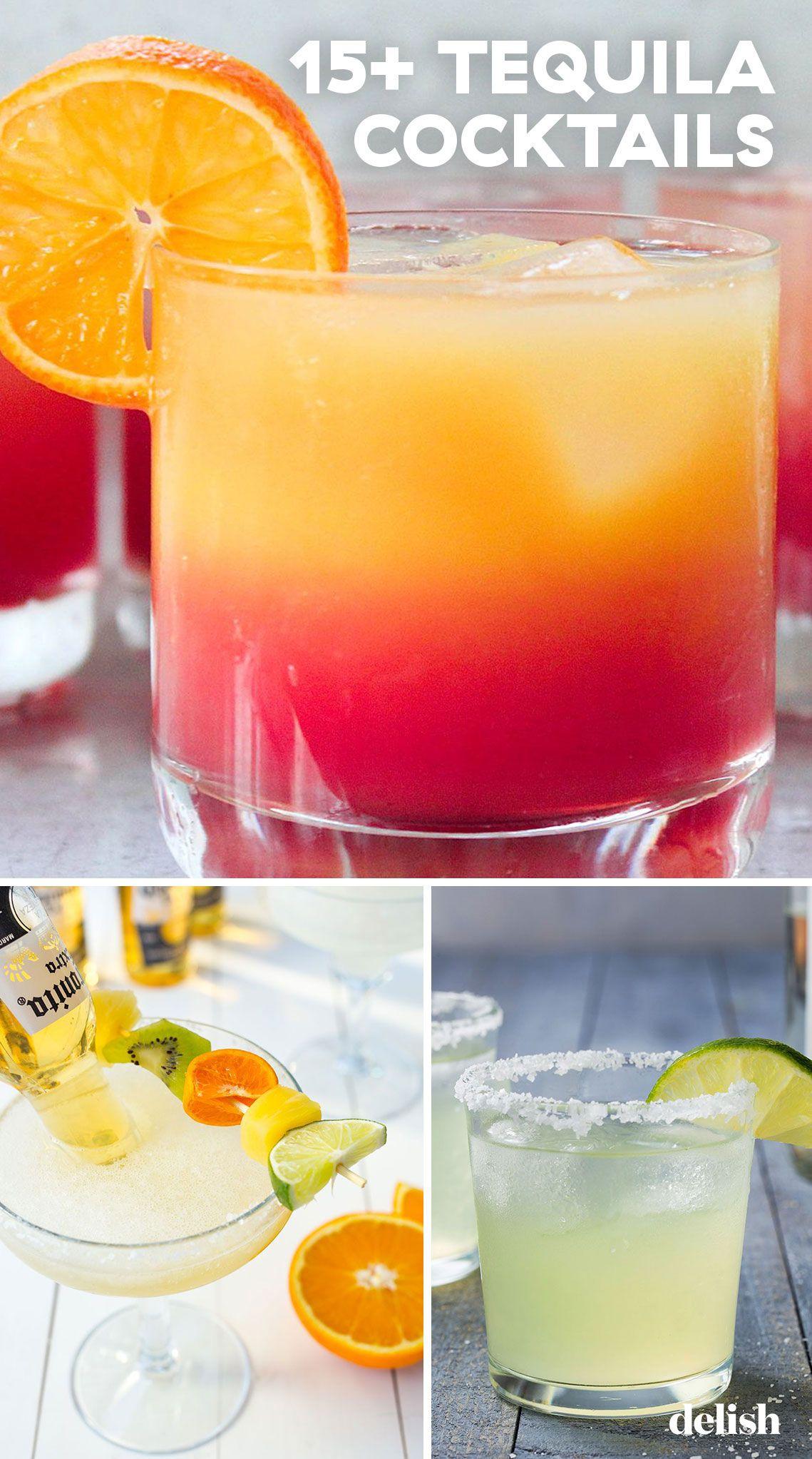 15+ Tequila Cocktails #tequiladrinks