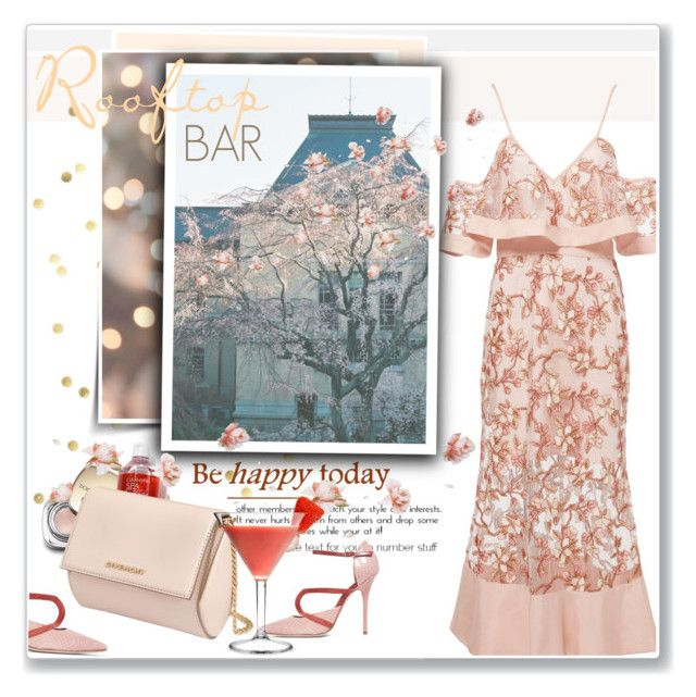 """""""Summer Date: Rooftop Bar"""" by daha-mk ❤ liked on Polyvore featuring Alice McCall, Dolce&Gabbana, Givenchy and Malone Souliers"""