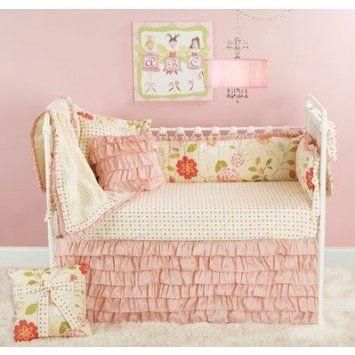 Amazon.com: Doodlefish CribRoseSet Rose Garden Crib Bedding Collection: Baby