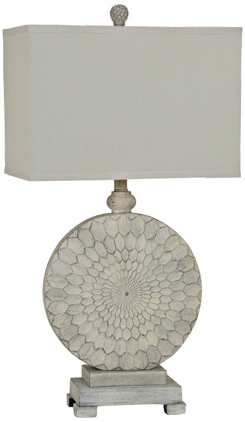 Crestview collection sun dance cream cake table lamp 8v395 crestview collection sun dance cream cake table lamp geotapseo Gallery