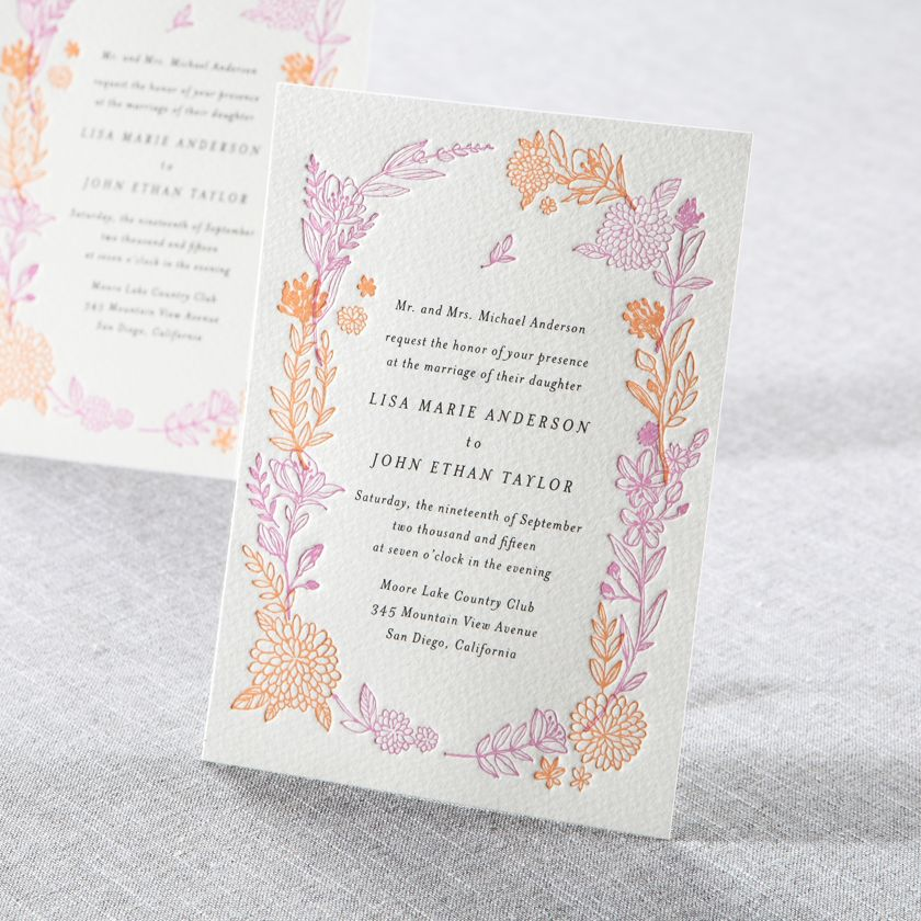 free online christening invitation making%0A Shop elegant wedding invitations and stationery  Create your dream wedding  invitation with online editor and