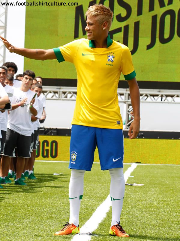 e13ddde643f Brazil 2013 Home Nike Football Shirt
