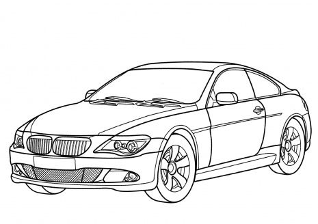 Car Coloring Pages | Miscellaneous Coloring Pages | Pinterest ...