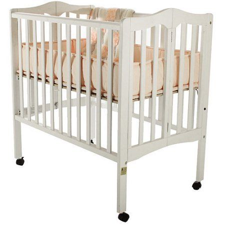 Dream On Me 2 In 1 Lightweight Folding Portable Crib   White   Tired Of  Using That Bulky Crib? Use The Dream On Me 2 In 1 Lightweight Folding Portable  Crib ...