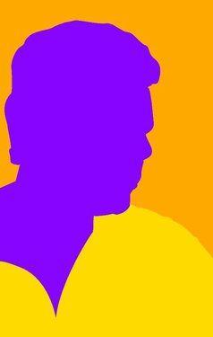 "Saatchi Online Artist Muhammad Saleem Jhatial; Digital, ""Self portrait"" #art"