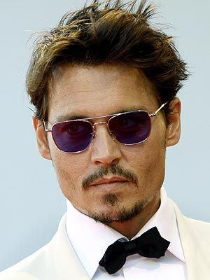 Johnny Depp in Edward Scissorhands, Pirates of the Caribbean: The Curse of the Black Pearl, Charlie and the Chocolate Factory, Corpse Bride, Pirates of the Caribbean: Dead Man's Chest, Pirates of the Caribbean: At World's End, Sweeney Todd: The Demon Barber of Fleet Street, Alice in Wonderland, The Imaginarium of Doctor Parnassus, Rango, Pirates of the Caribbean: On Stranger Tides, Dark Shadows