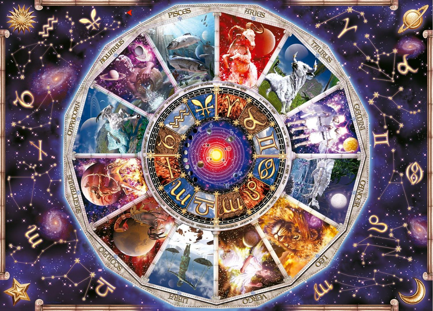 extra large jigsaw puzzles jigsaw puzzles pinterest astrology