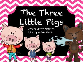 This is a pre-pre-kidergarten/kindergarten literacy packet best used in accordance with the Three Little Pigs fairy tale.