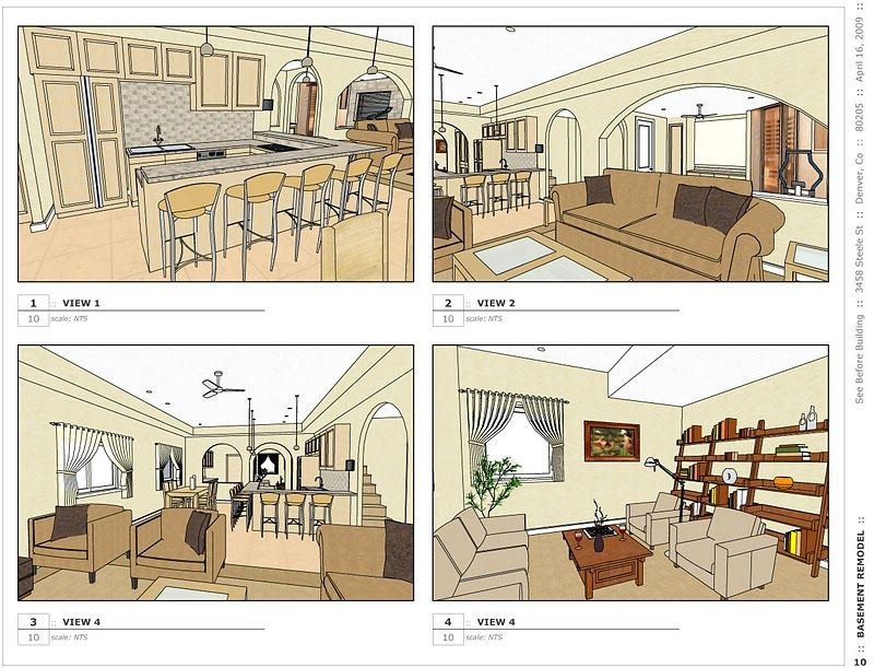 Layout Case Study Image_6. Google SketchupCase Study
