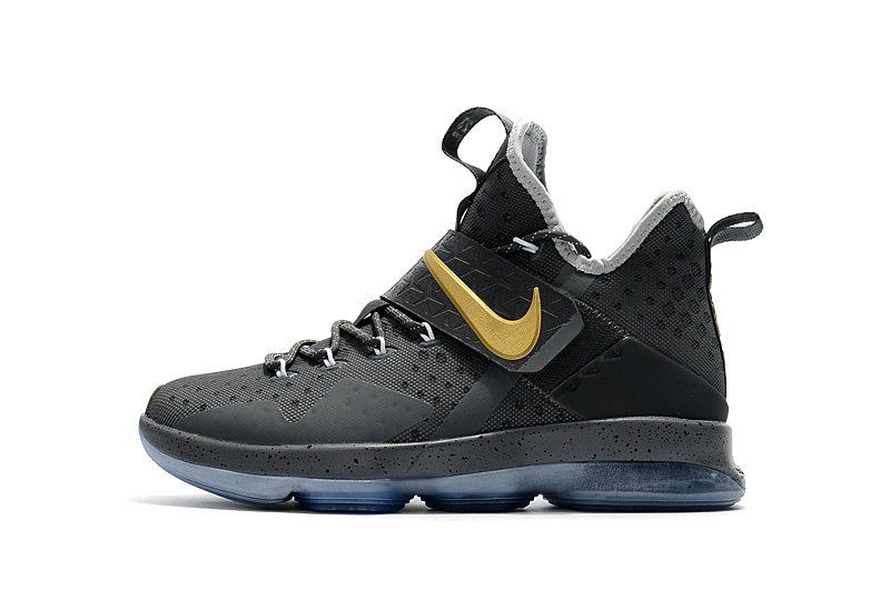 d44640e7d21 czech free shipping only 69 lebron 14 xiv grey gold big boys basketball  shoes 2017 75ad7