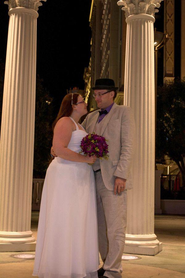 Katherine and Chris's Las Vegas Elopement at Caesars Palace | @lasvegasluvbug