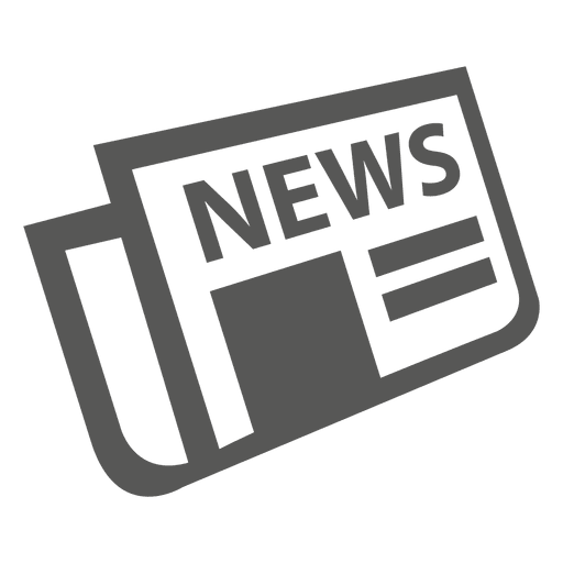 Flat Folded Newspaper Icon Ad Paid Sponsored Folded Newspaper Icon Flat Newspaper Logo Icon Newspaper