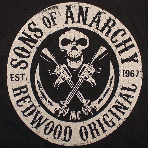 16af2dc0f388c sons of anarchy logo | SOA | Filhos da anarquia, Estampas de camisas ...