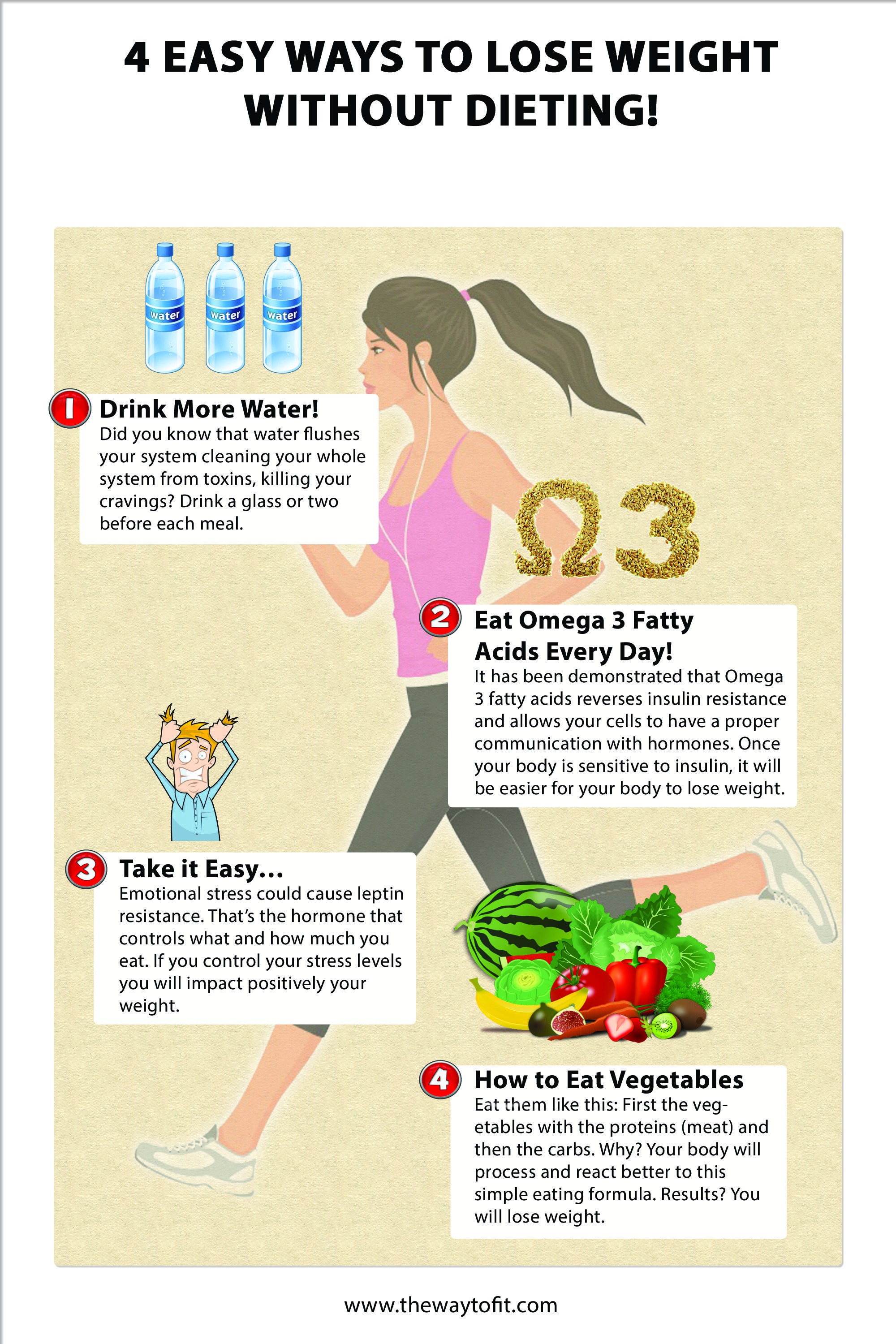 How to lose weight and easy