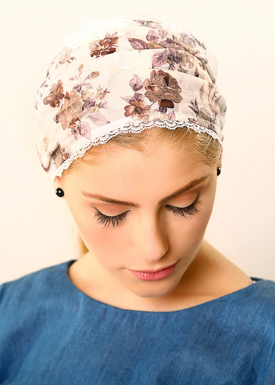 Wide White Headbandromantic Headbandboho Chic Headbandcolorful