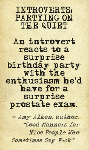 Amzn Quote Introvert Shindigs Um Don'tanother Fine Quote From Amy Alkon