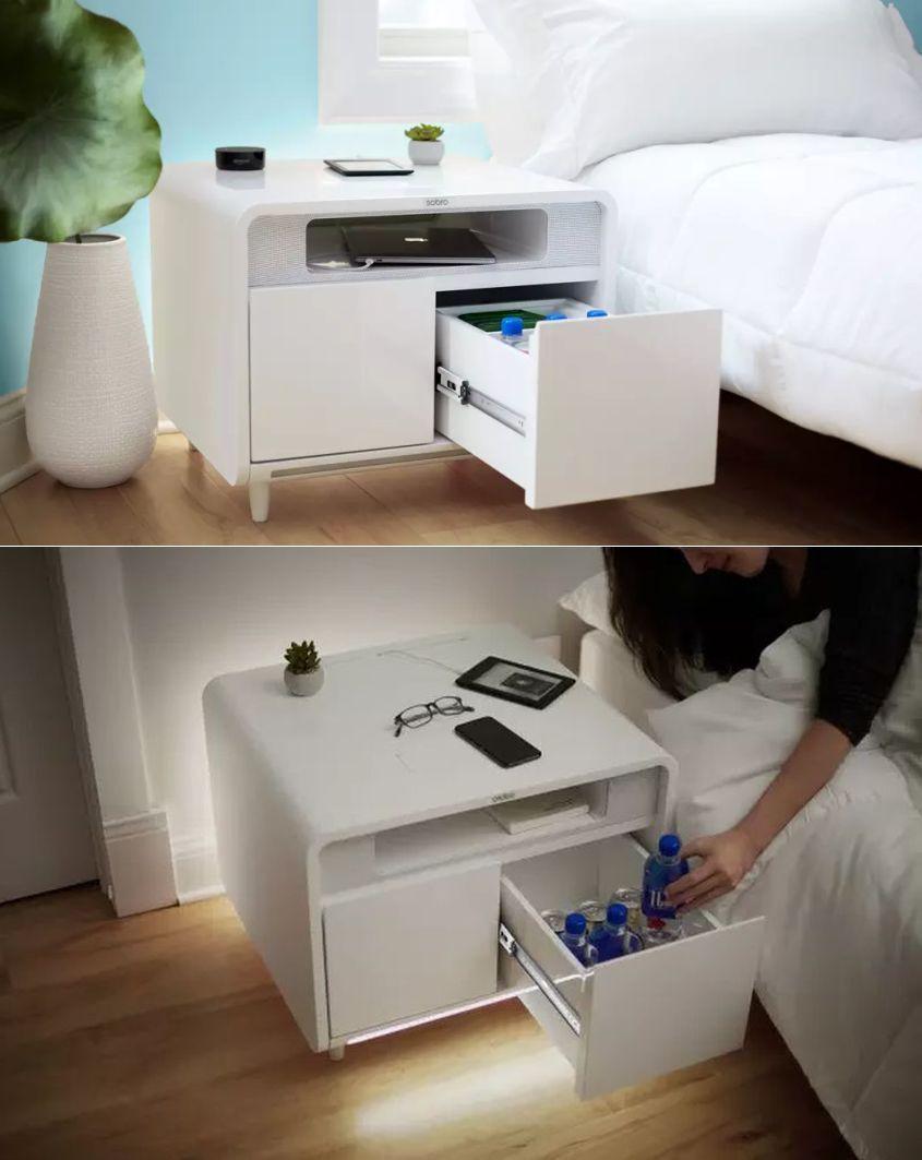 Sobro Smart Side Table Combines Fridge Charging And Sleep