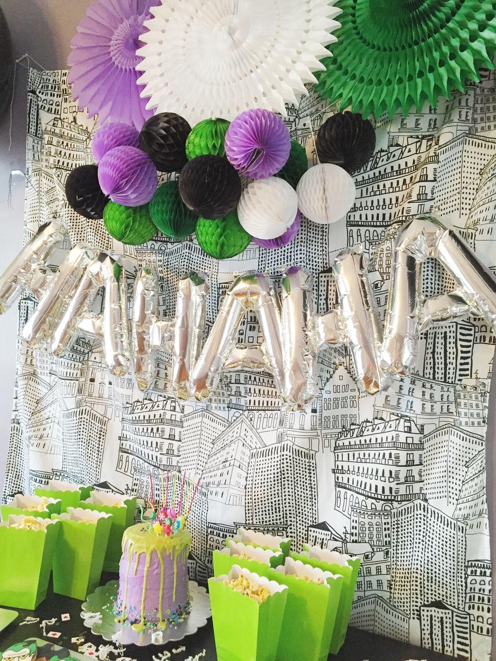 Google themes joker - Joker 3rd Birthday Party Party Ideas For Kids Modern Kids Party Ideas Happysoiree