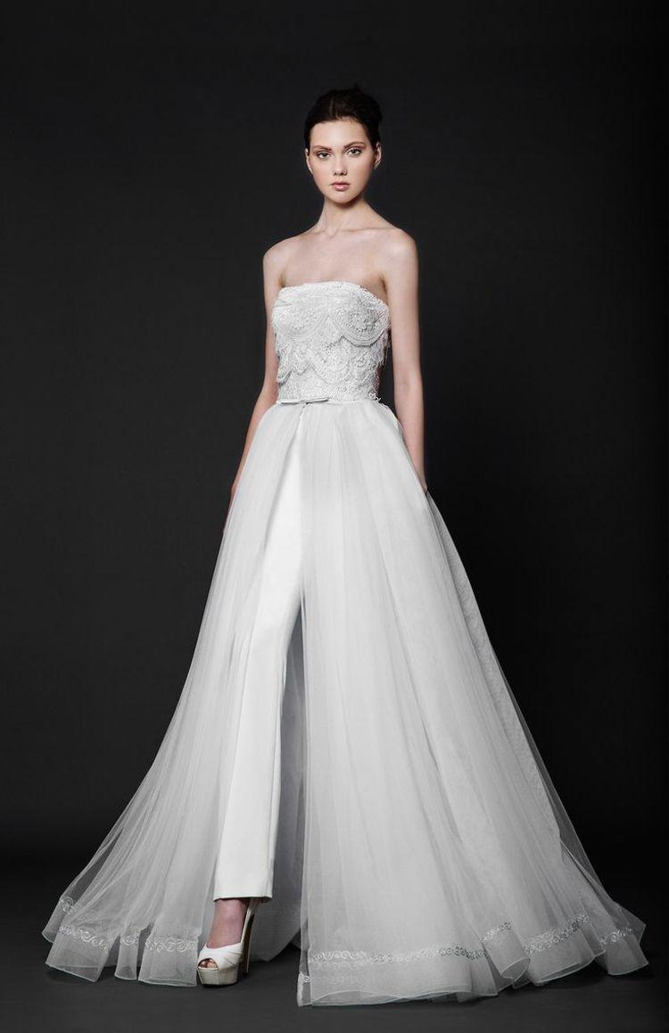 Braut Jumpsuits Fur Eine Rustikale Hochzeit Furhochzeit In 2020 Dressy Casual Attire Fashion Dressy Pant Suits