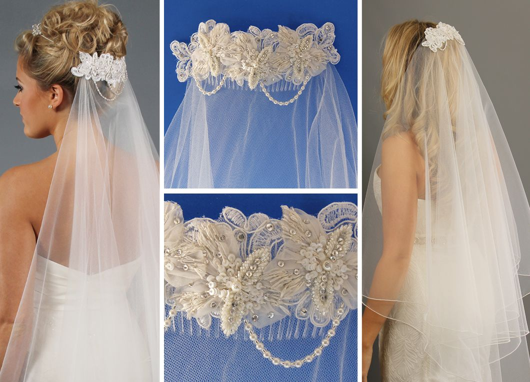 wedding veils with comb | hairstyles for older women with thinning