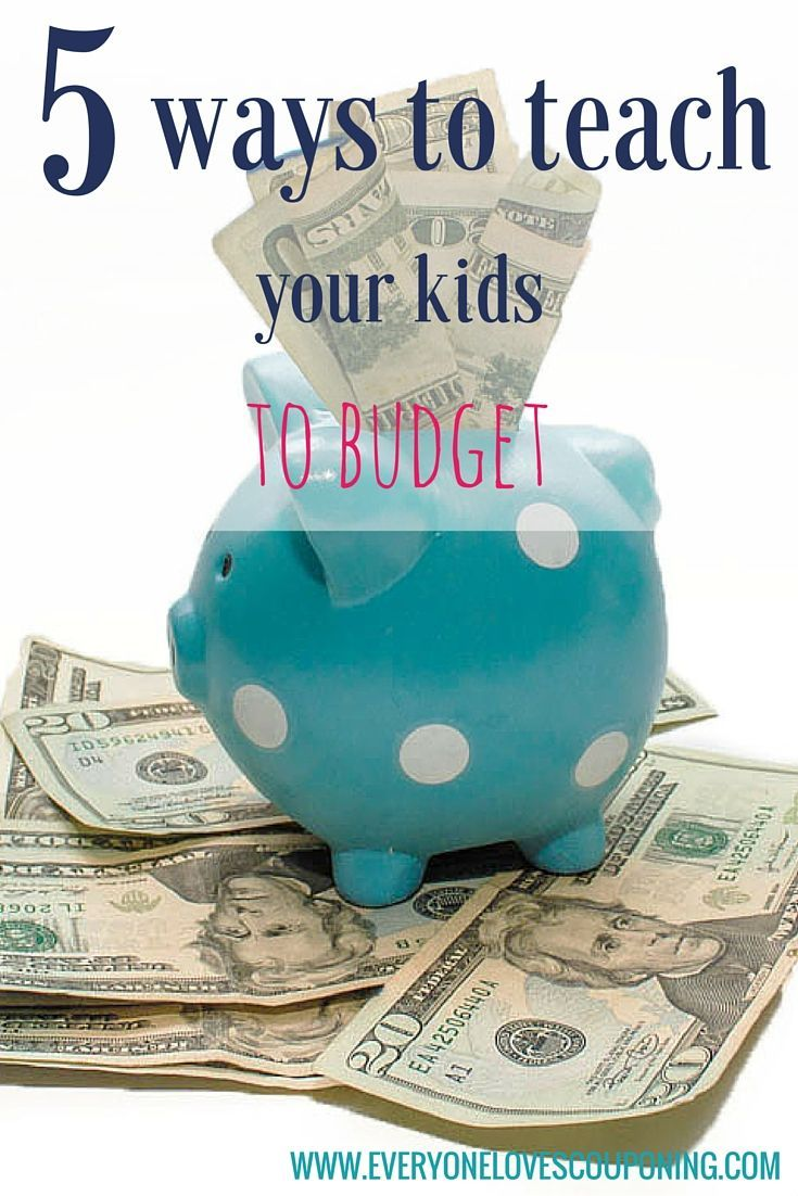 5 Ways To Teach Your Kids To Budget ELC