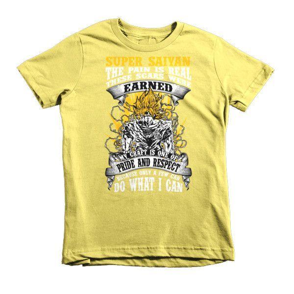 Super Saiyan Kid Shirt - Warriors Goku Fans- PF00047KS