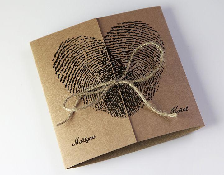 Zaproszenia Na ślub ślubne Kolekcja Serca 5789621165 Allegropl