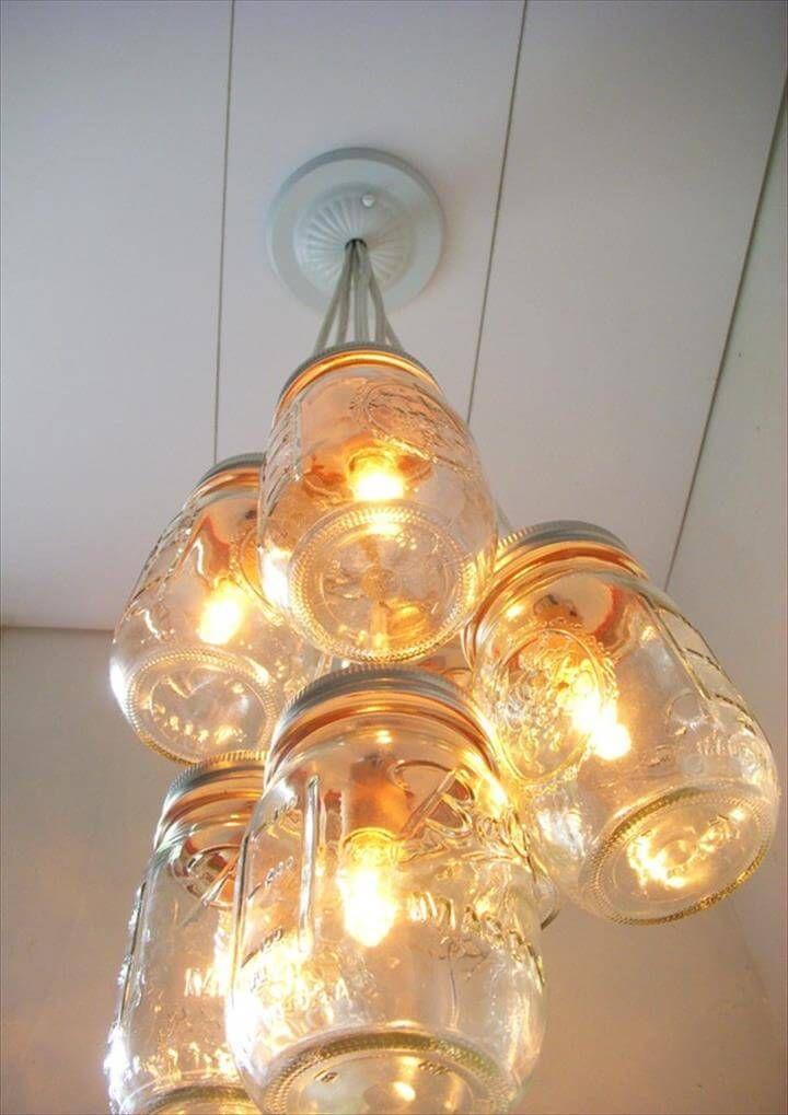 35 mason jar lights do it yourself ideas solutioingenieria Image collections