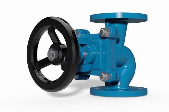 Bellow sealed valve DN50 PN16 | CG - Resources | 3d cad